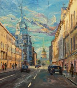 Гороховая улица, Санкт-Петербург.