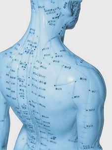points d'acupuncture, méridiens