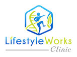 Lifestyle Works Clinic logo with full co