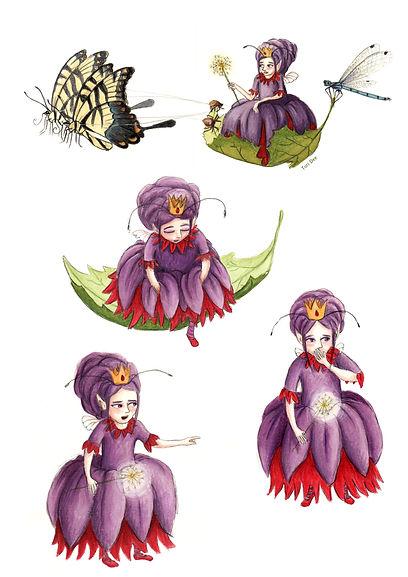 Queen Fairy character sheet