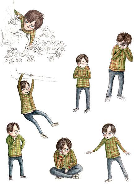 Freddie character sheet