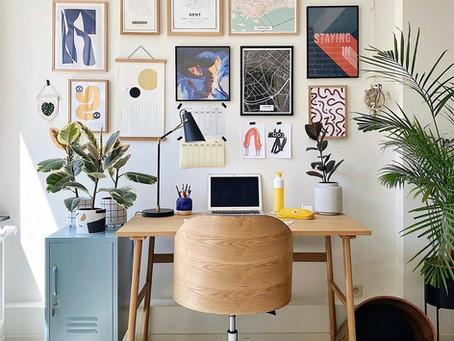 Home office: 10 ideias charmosas para montar o seu
