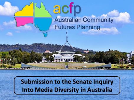 Let's secure media diversity and democracy in Australia