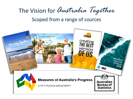 Where did the Vision for Australia Together come from?