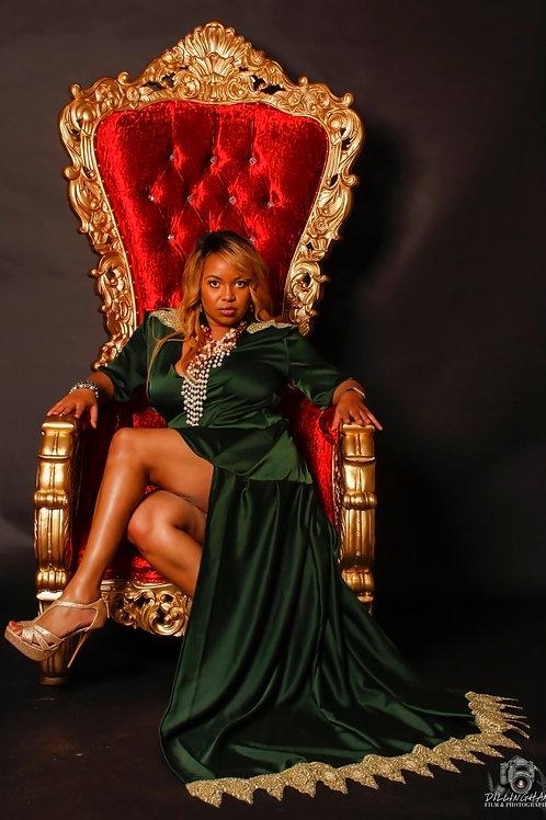 Green Queen Gown
