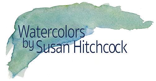 Susan Hitchcock's water colors logo