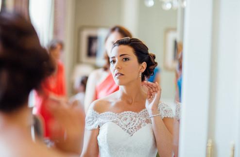 Maquilleuse à domicile Genève Annecy Chambéry Megève Talloires Maquillage mariage mariée