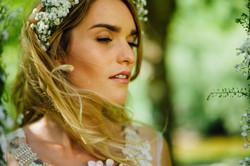 Natural look bride make-up