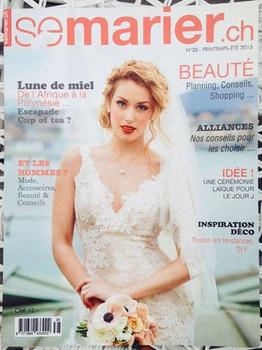 Elodie Montant publication presse semarier.ch maquilleuse professionnelle Genève