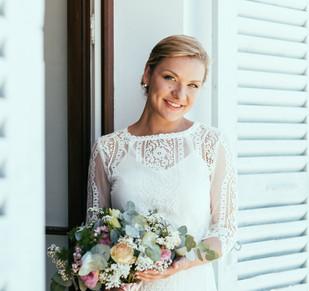 Maquillage de mariée Menthon Saint Bernard mariage bohème chic