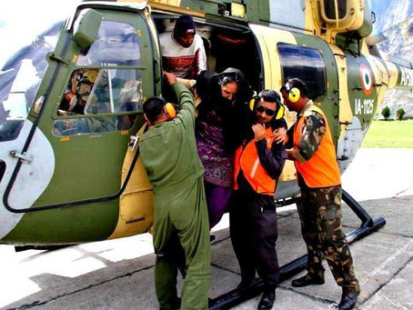 A Helping Hand: Indian Military's Relief and Rescue Operations