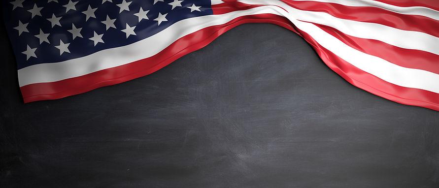 united-states-flag-placed-on-blackboard-