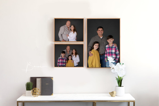 Canvases with Float Frames