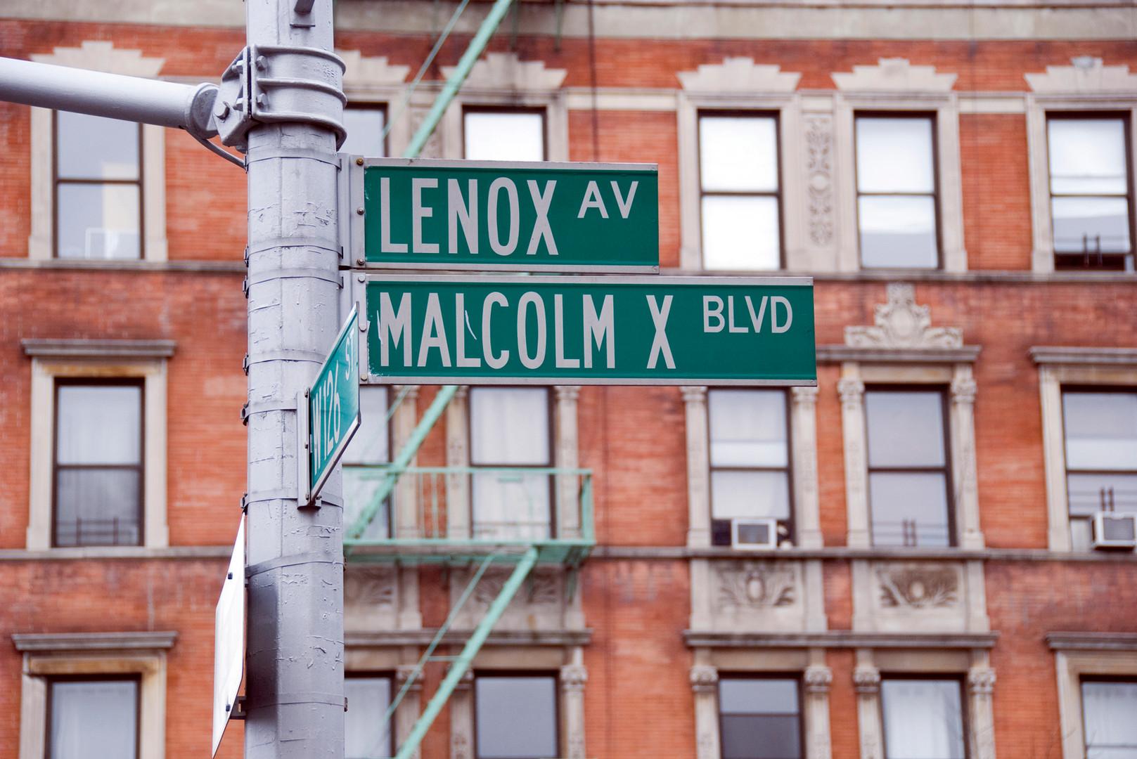 Lenox & Malcolm X