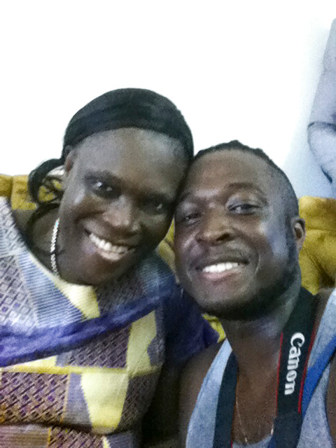 Charles Stephen laubhouet & Simone Gbagbo