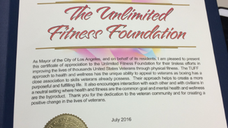 """""""Creating a positive change in the lives of veterans."""""""