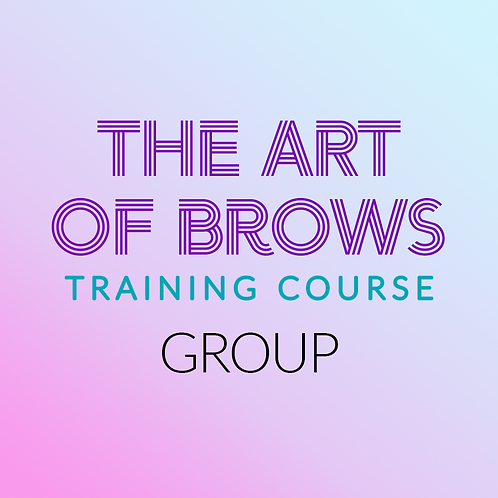 Art of Brows Training Course (GROUP SESSION)