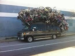 Ophaal en terugbreng service van uw fiets mogelijk
