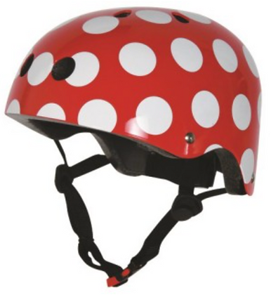 Kiddimoto Red Dotty M