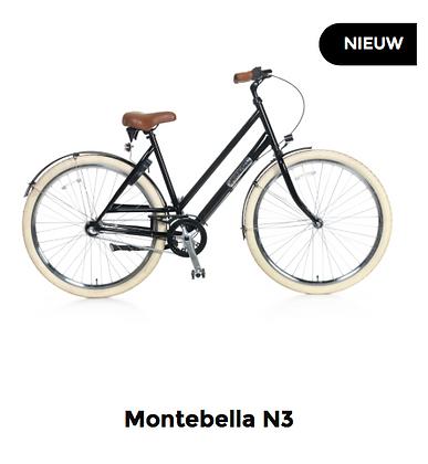 """Nontebella N3 28"""" 53 cm Zwart"""