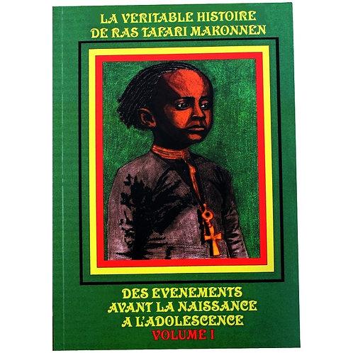 Livre La véritable histoire de Ras Tafari Makonnen