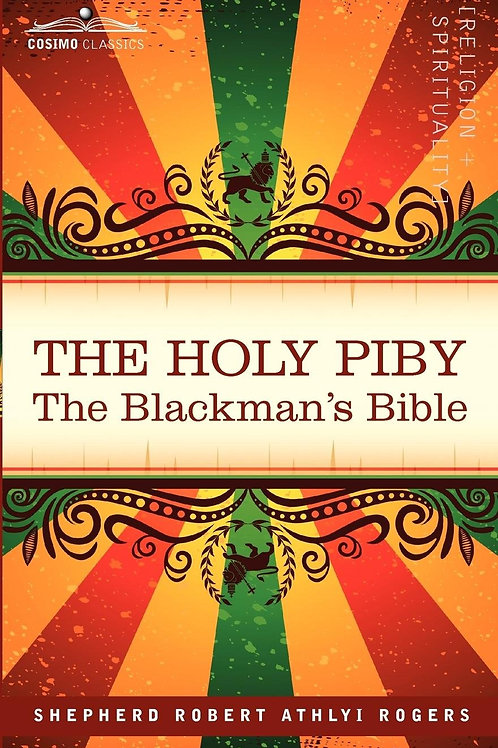 Livre The Holy Piby The Blackman's Bible
