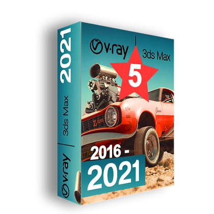 V-Ray 5 for 3ds Max 2016-2021
