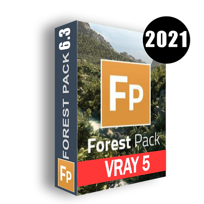 Itoo Software Forest Pack Pro v6.3.0 - 6.3.1 For 3ds Max 2014-2021