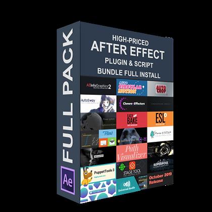 High-Priced AE plugin & Script Bundle Full