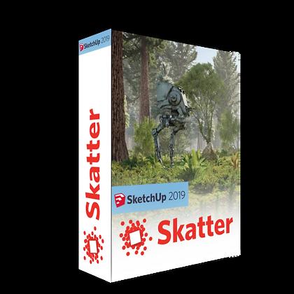 Skatter v1.4.10 for Sketchup 2019