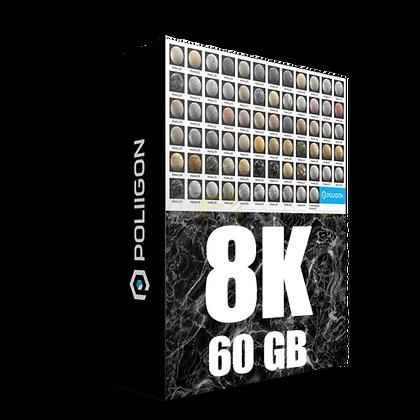 Poliigon Mega Pack 3k-16k - 60gb Texture