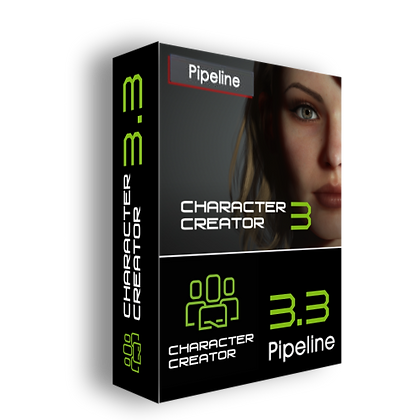 Character Creator 3.3 + Pipeline Extension Full version