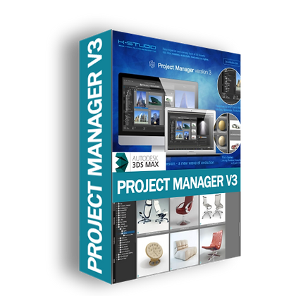 Project Manager v3.10.32 for 3ds Max 2014 - 2021
