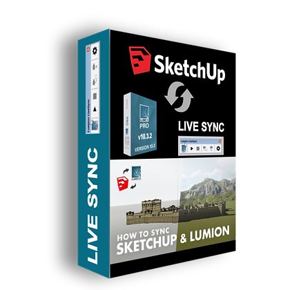 Lumion LiveSync for Sketchup, Rhinoceros, Revit and ArchiCAD