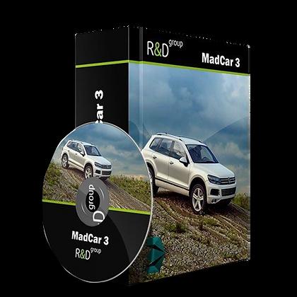 MadCar v3.064 for 3dmax 2014-2020