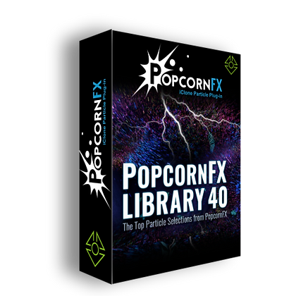 PopcornFX Library 40 + Super Tools - iClone 7.7 - 7.8