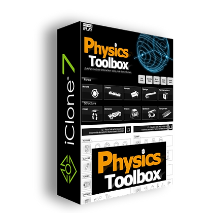 Physics Toolbox for iClone 7