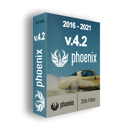 Phoenix FD v4.20 for 3ds Max 2016 - 2021