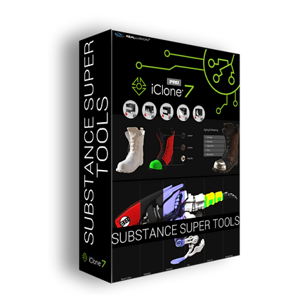 Substance Super Tools - iClone 7