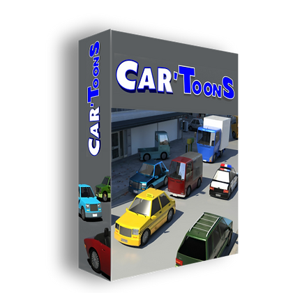 Car Toons Collection - iClone 7