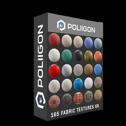 Poliigon - 165 Fabric Textures 6K