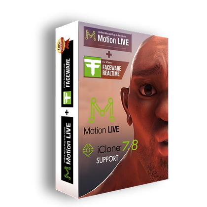 Faceware Plugins 1.02  + Motion Live Pack Unlimited iClone 7.72 - 7.73