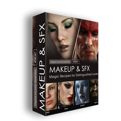 Reallusion MakeUp & SFX for CC 3 .3
