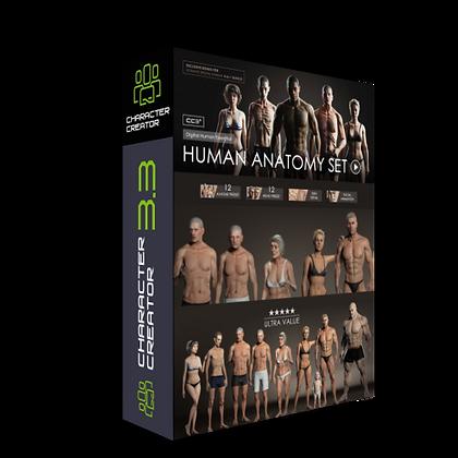 Human Anatomy Set (Bonus) CC 3.3