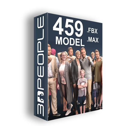 3DPEOPLE - Mega Collection