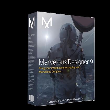 Marvelous Designer 9 Enterprise 5.1.381