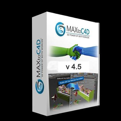 MAXtoC4D v 4.5