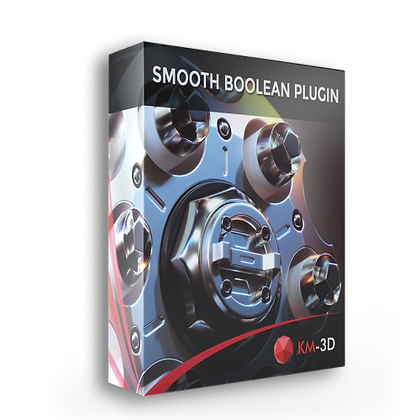 KM-3D SmoothBoolean v1.06 for 3ds Max 2013 - 2020 x64