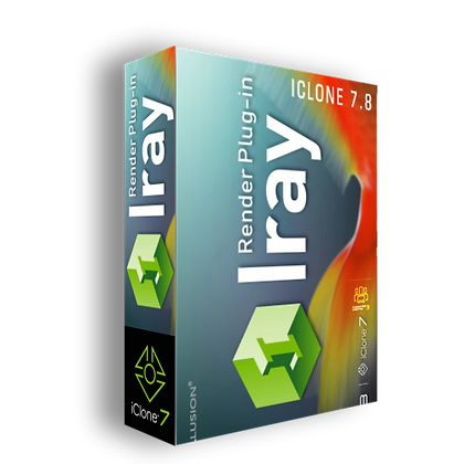 Iray Render Plug-in 1.42 for iclone 7.9