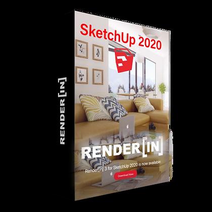 Render[in] 3.0.11 for Sketchup 2020 x64